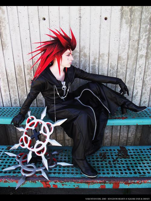 Cosplay Axel Kingdom Hearts