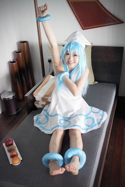 Shinryaku ika musume cosplay