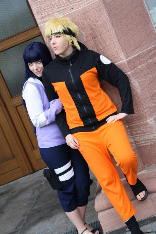 Cosplay couple Naruhina