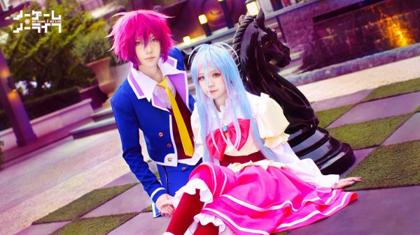 Cosplay No game no life