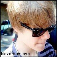 """ Ne jamais dire amour ""."