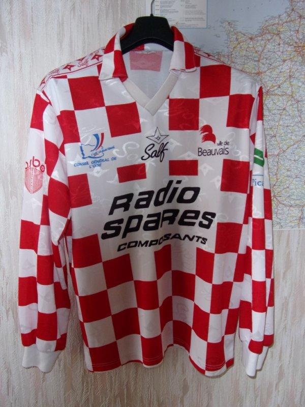 beauvais  maillot porté 96/97