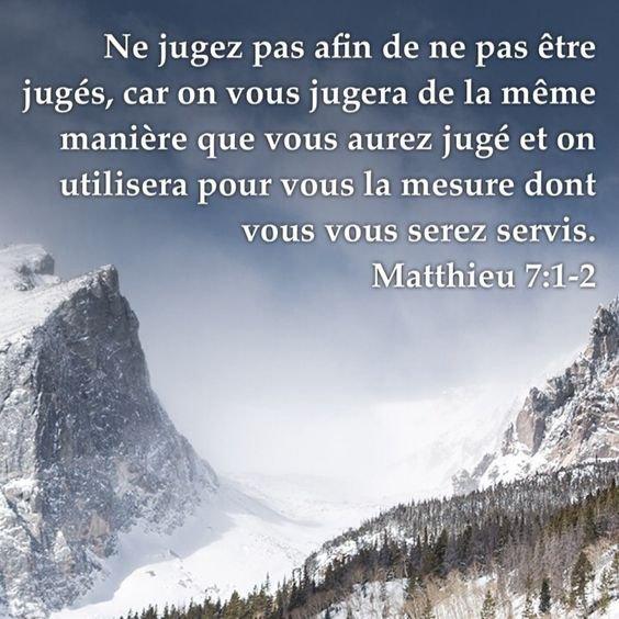 Matthieu 7.1-2