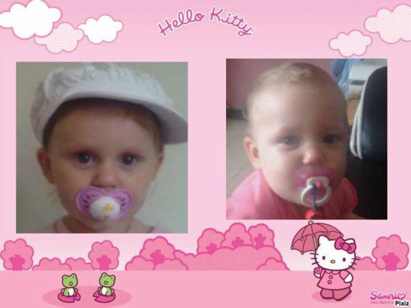 mes fille melinda et tatiana