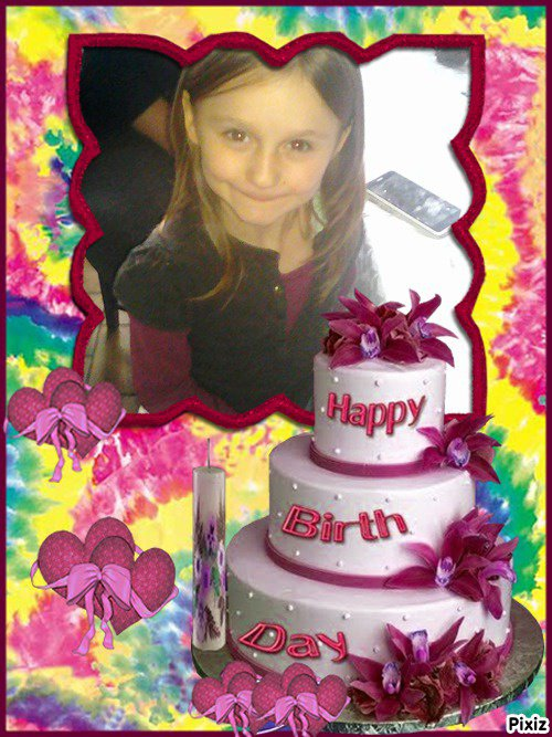 joyeux anniversaire ma puce deja 8ans que tu née le plus beaux jours de ma vie