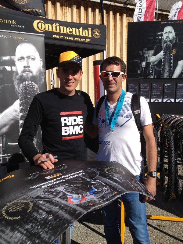Roc D'Azur 2013 - Rencontre avec Julien Absalon