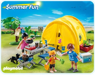 NOUVEAUTES : Le camping.