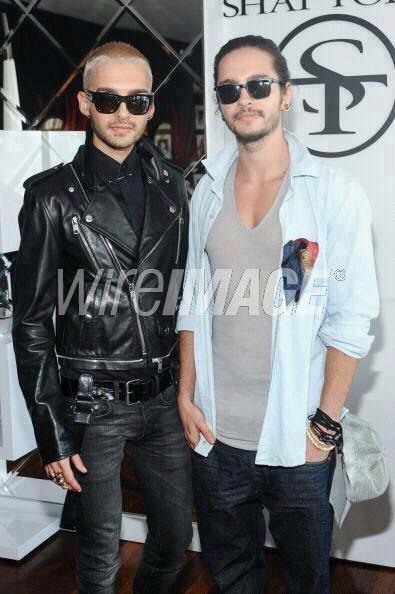 #Bill & Tom le 31 Juillet 2013, au défilé de la collection Shay Todd.(Los Angeles )