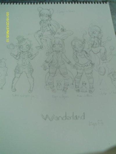 Illustrations wonderland