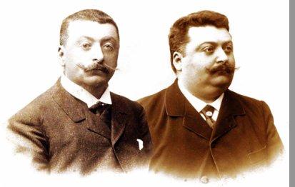 Les Frères Perrout, biographies croisées :