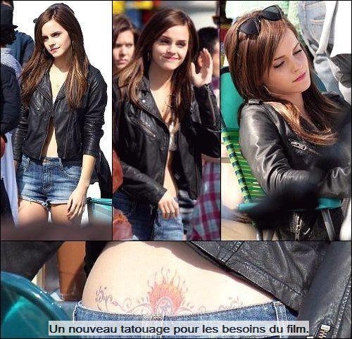 """. ● 12/04/12 Emma a été vue à Venice (Californie) sur le tournage de""""the Bling Ring"""".."""
