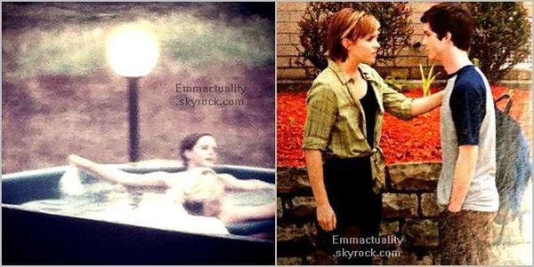 . 08/08/12 ➜ Emma est en Islande pour le tournage de Noah et a été vue dans un retaurant & un jacuzzi avec Sophie Sumner. + Un nouveau Still et un Scan de TPOBAW sont apparus..