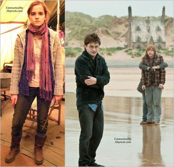 . 12/08/12 ➜ Emma a été vue posant avec des fans et signant des autographes en Islande. + De nouvelles photos pour HP7 (partie1) sont apparues..
