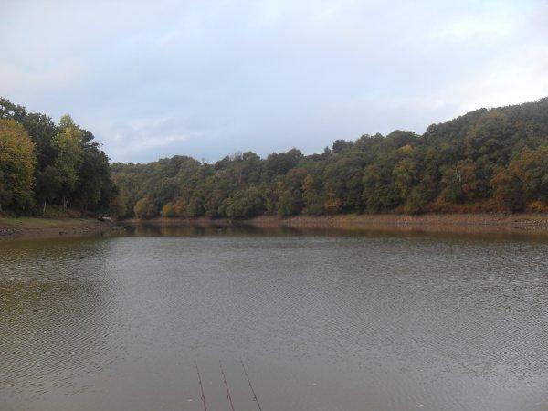 72h00 au lac de barrage de rophémel.
