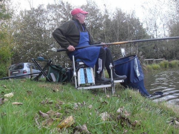 Sortie pêche au coup