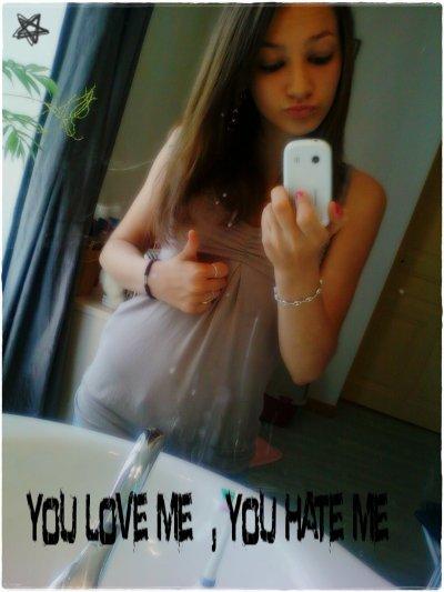yoυ love мe  , yoυ нαтe мe