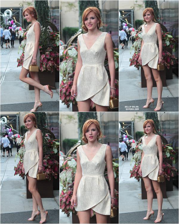En début d'après-midi Bella a été vu arrivant a son hotel le 1 aout 2012.