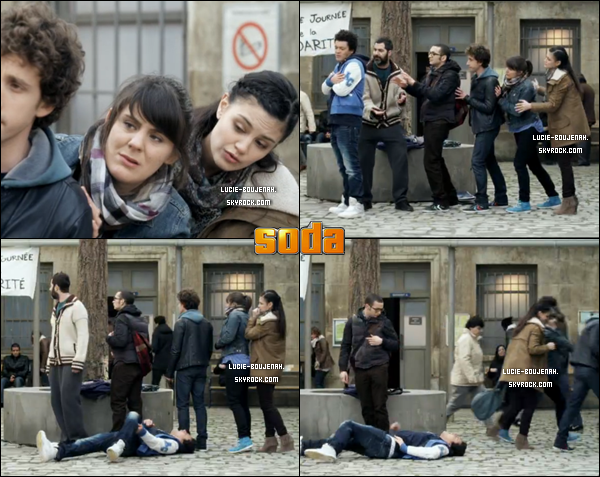 PARTIE N°2 : 30 Juin 2012 : Toutes les apparitions de Lucie dans les épisodes de S.O.D.A diffusé Le 30 Juin.  .