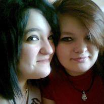 Mélissa et moi  <3