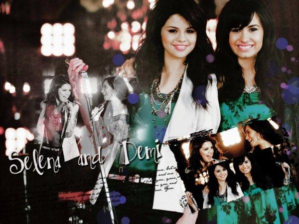Selena et sa meilleur ami Demi               (meilleur ami avant avec Demi)