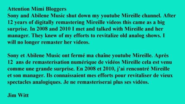 Mimi Channel Shut Down
