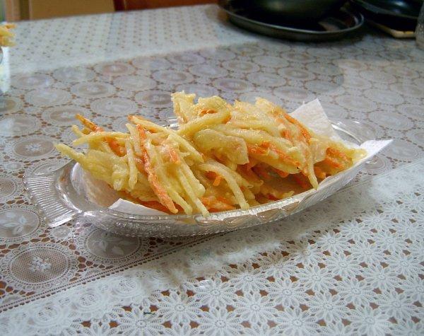 Beignet de légumes à la façon coréenne