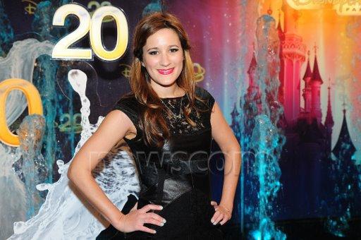 Maeva Meline au 20ème anniversaire de Disney !