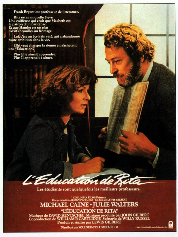 BAFTA 1984 L'EDUCATION DE RITA