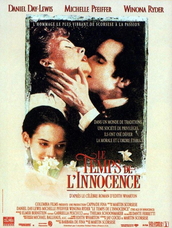 BAFTA 1994 LE TEMPS DE L'INNOCENCE