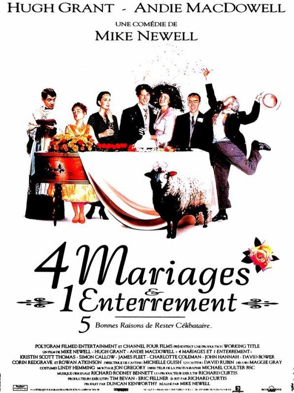 BAFTA 1995 4 MARIAGES ET 1 ENTERREMENT