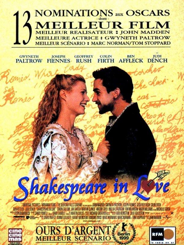 BAFTA 1999 SHAKESPEARE IN LOVE