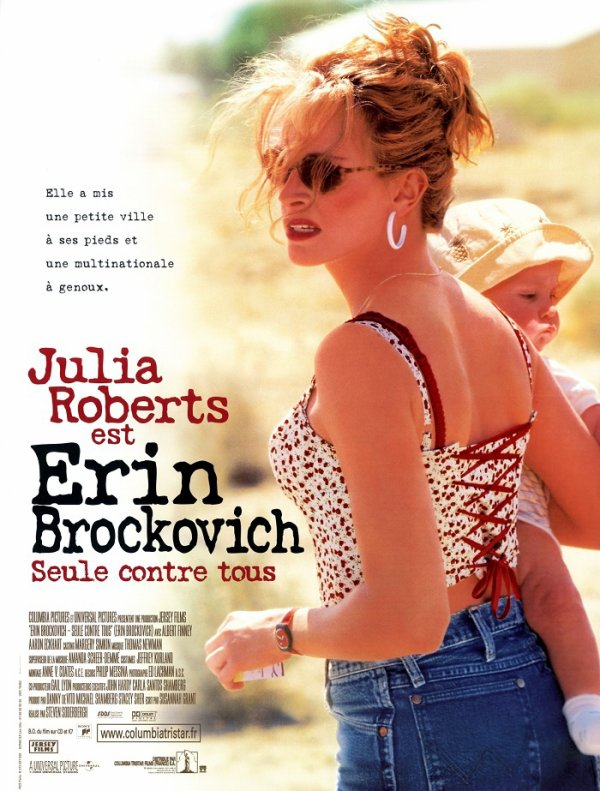 BAFTA 2001 ERIN BROCKOVICH SEULE CONTRE TOUS