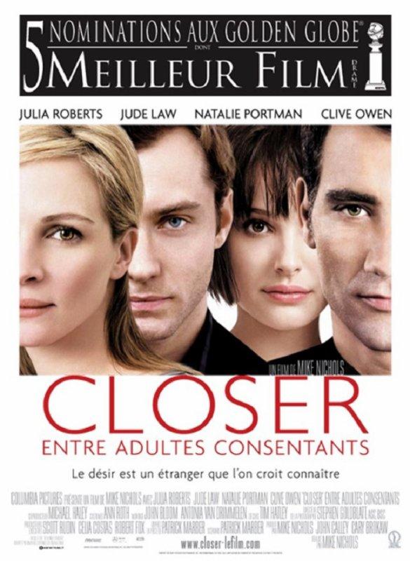 BAFTA 2005 CLOSER ENTRE ADULTES CONSENTANTS