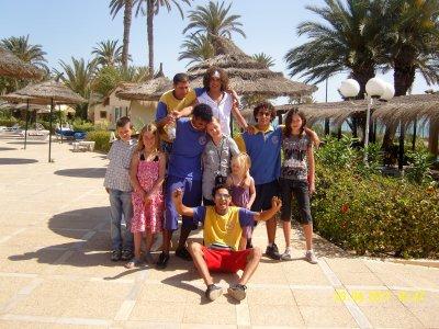 Magnifique moment en Tunisie avec ces Animateur!!x3x3x3