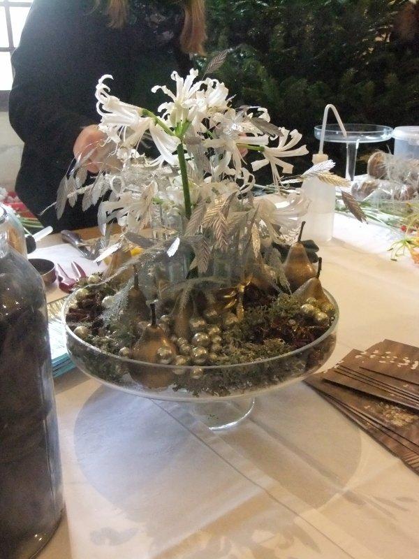 Démonstration Art Floral Chenonceaux