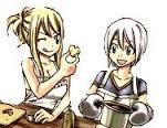Lucy et Lisanna <3 pour ma Lisa-chan