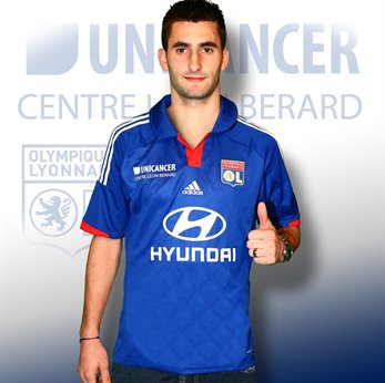 MAILLOT ADIDAS EXTERIEUR COLLECTOR UNICANCER MAXIME GONALONS 21 XXL + MAILLOT PORTE S.MALBRANQUE TAILLE L 2012/2013