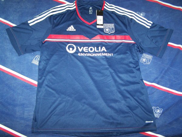 MAILLOTS ADIDAS HOME + EXTERIEUR + LDC/EUROPA 2013/2014 TAILLE XXL + HOME COLLECTOR BOUTIQUE TAILLE XL LACAZETTE