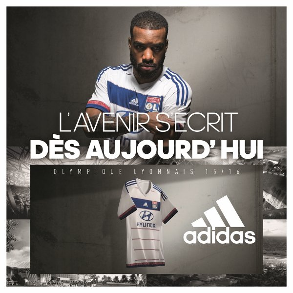 MAILLOTS ADIDAS HOME + EXTERIEUR 2015/2016