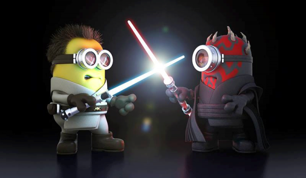 stars wars version minion .......je suis ton pere