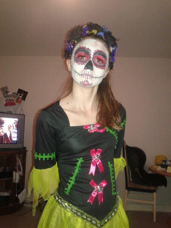 Petit maquillage d halloween de ce wk