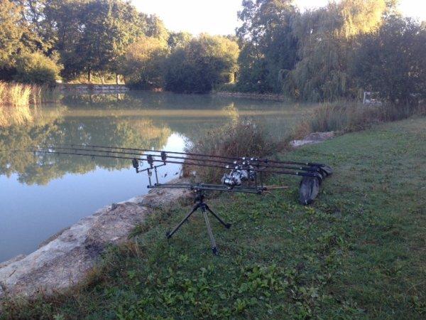 Petite journee  pêche sa fait du bien ??