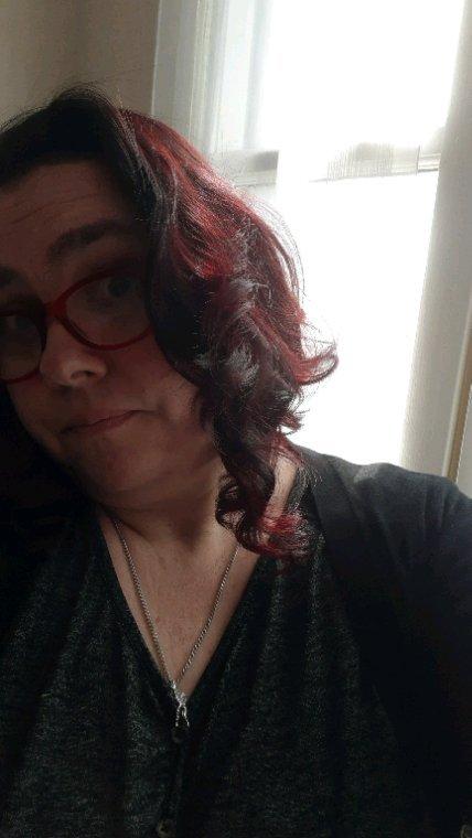 Nouvelle coupe de cheveux et nouvelle couleur