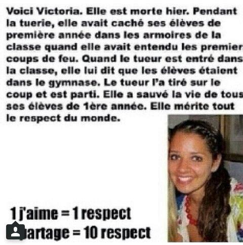 Un grand respect à cette femme! Partagez !
