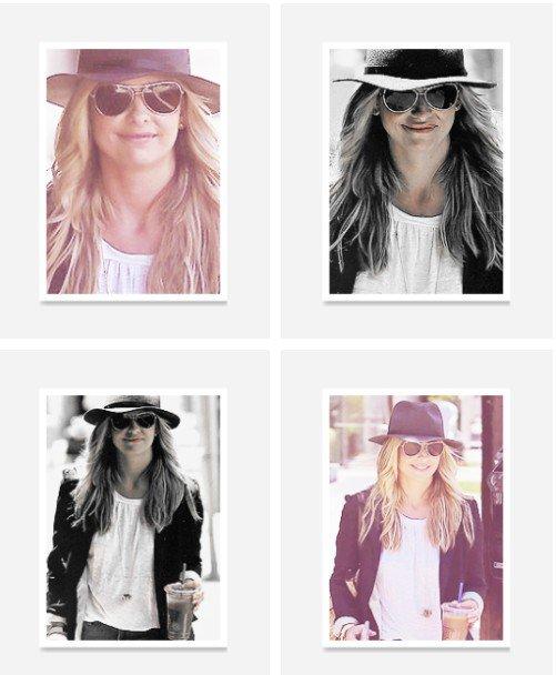 Les différents candids de Sarah, excusez moi pour le retard, on peut voir qu'elle a mis des rajouts ;)