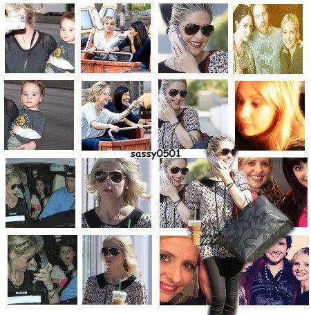 8.02 - La famille Prinze ont été vu a l'aéroport, le 11. 02 Sarah, Freddie et Charlotte ont été a Disney et le 14 février Sarah a été chez le coiffeur ♥