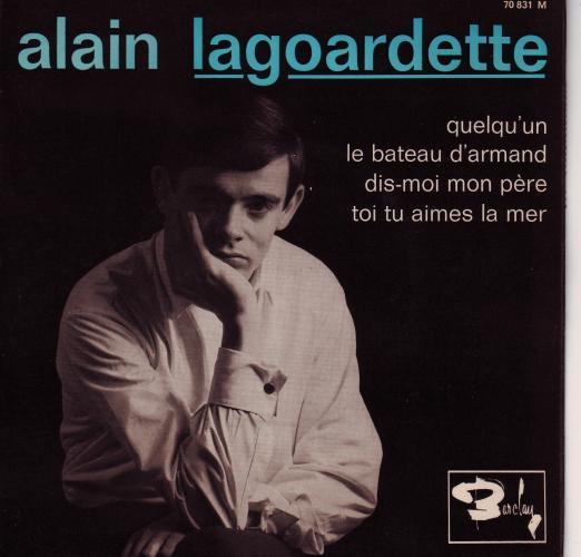 Pochette Dare Play List 3 / Alain Lagoardette