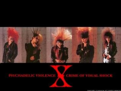 mon groupe favori: X JAPAN