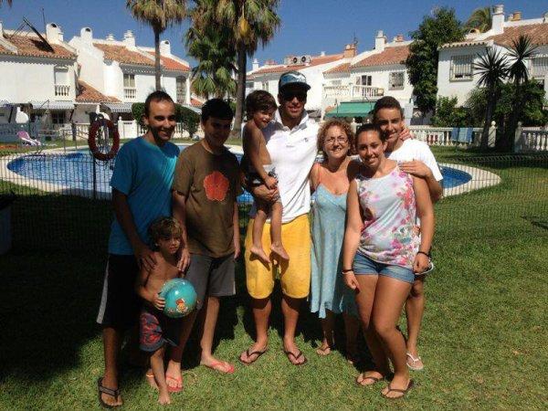 22.07.13 - Sergio Ramos à Formigomes