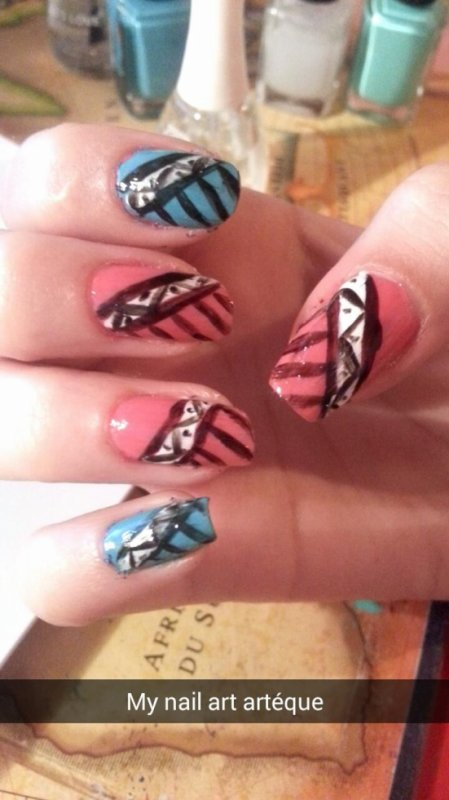 "nail art ""azthèque"""